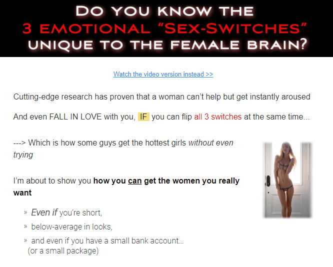how you can get the women you really want