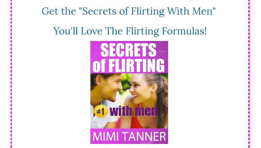 secrets of flirting with men