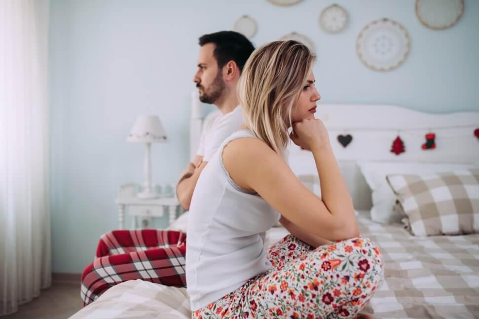 Couple having arguments