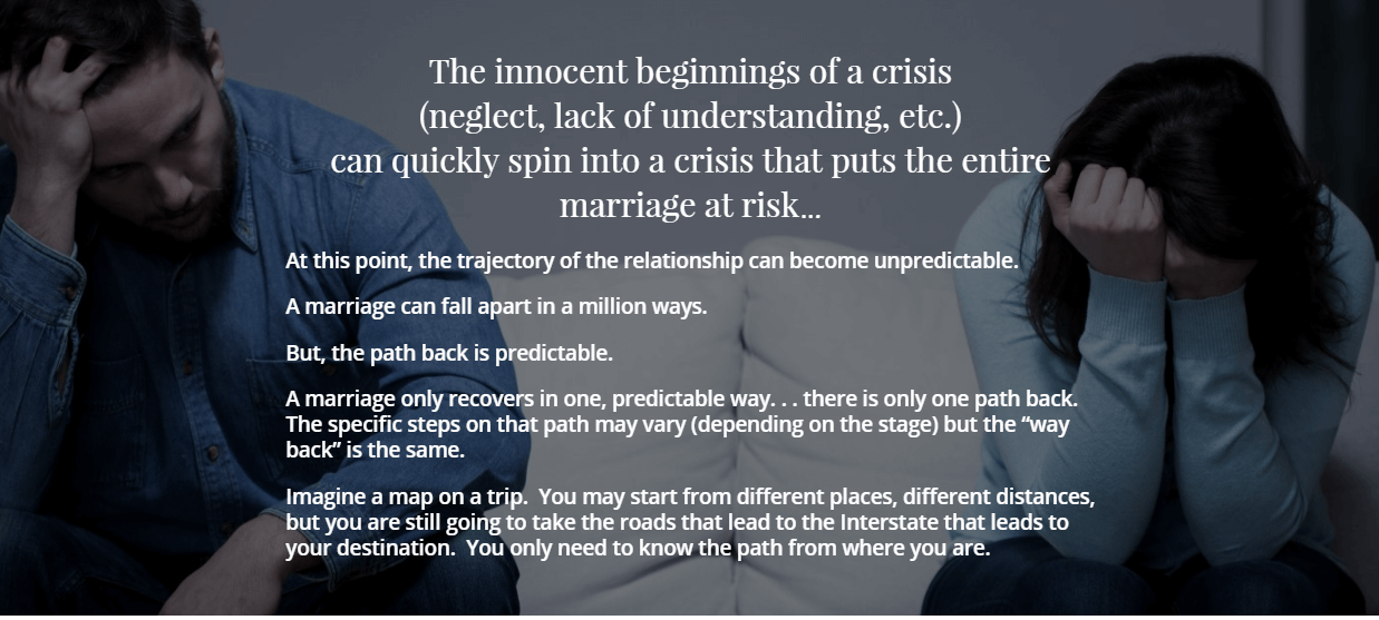 saving a marriage in crisis