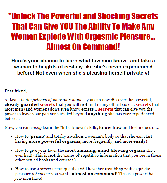 woman sexual desires you need to know