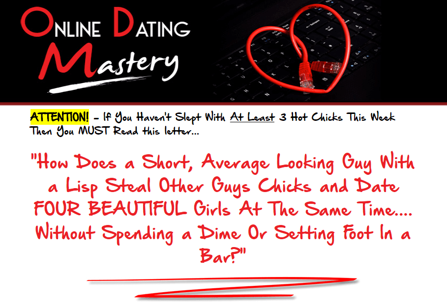 Website of online dating mystery