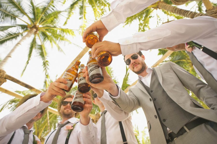 Men, Beer