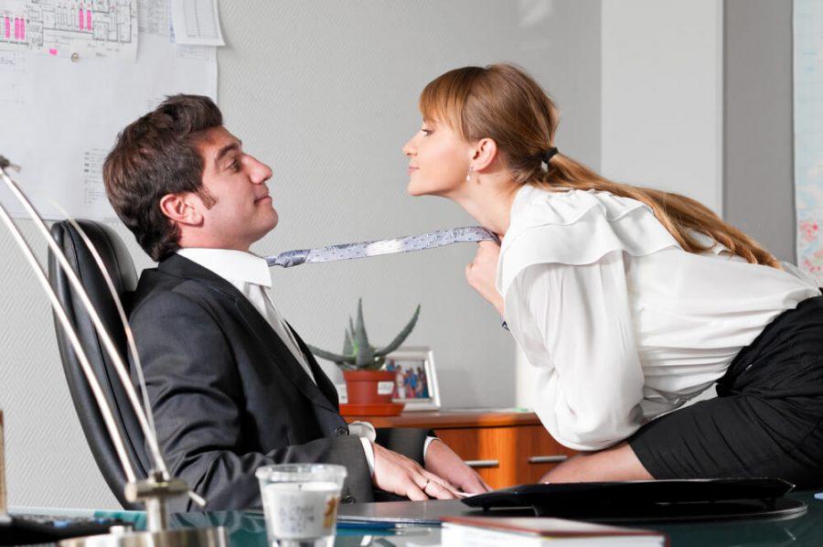 seducing her boss